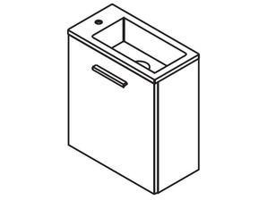 Sapho LATUS III skříňka s umyvadlem 45x52x23cm LATUS45