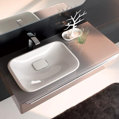 keramag myday umyvadlo na desku bez p epadu 60x39cm. Black Bedroom Furniture Sets. Home Design Ideas