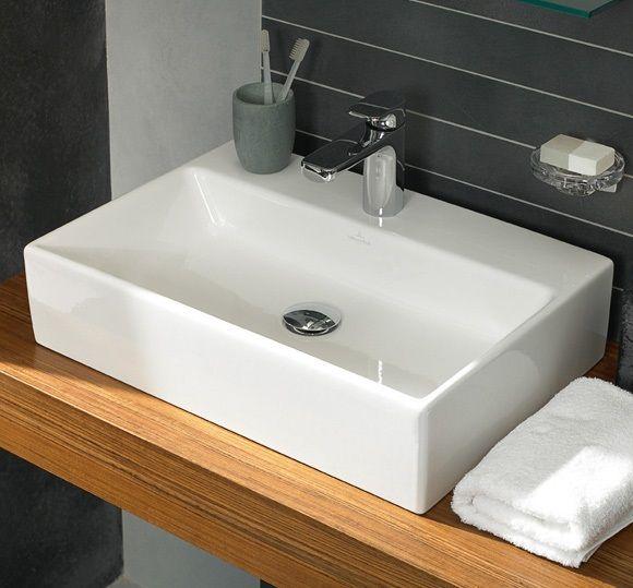 villeroy boch memento umyvadlo na desku 600x420mm b l 51356001 koupelny. Black Bedroom Furniture Sets. Home Design Ideas