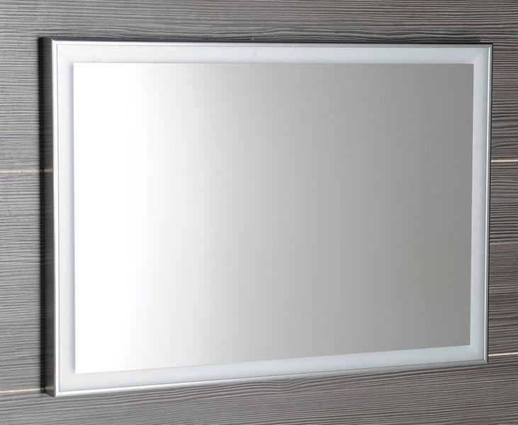 Sapho Luminar Zrcadlo V Rámu S Led Osvětlením 1200x550mm Chrom